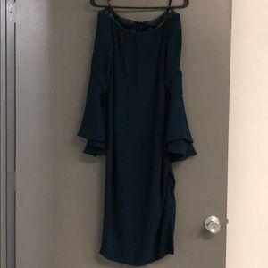 Bardot Solange Teal Dress